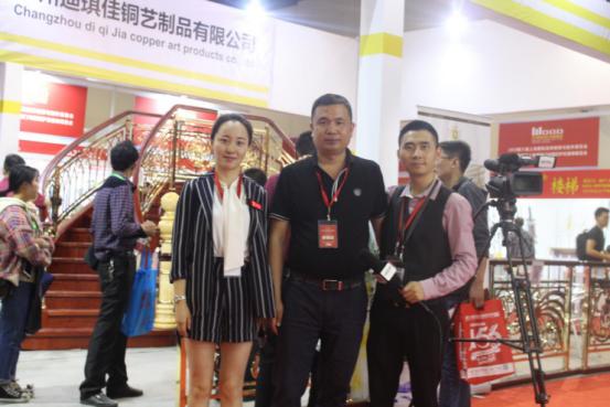 常州迪琪佳铜艺亮相2018上海楼梯展-焦点中国网