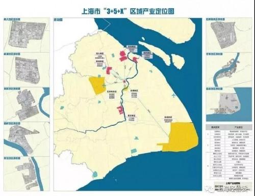 地图   截止2018年8月,上海市人工智能重点产业共计403家,浦东新区及